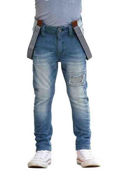 s.Oliver RED LABEL Junior 5-Pocket-Jeans (Set, 2 tlg., mit Hosenträgern), in schmaler Form