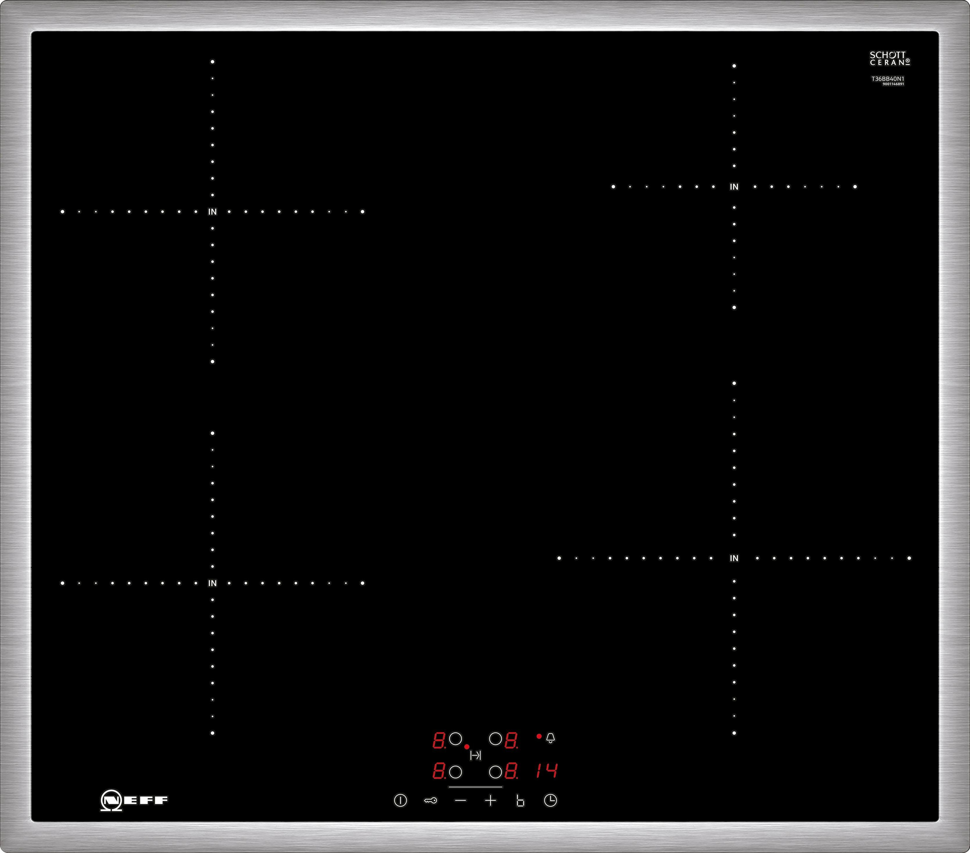 Neff Induktions-Kochfeld mit TouchControl-Bedienung TBB3640N / T36BB40N1