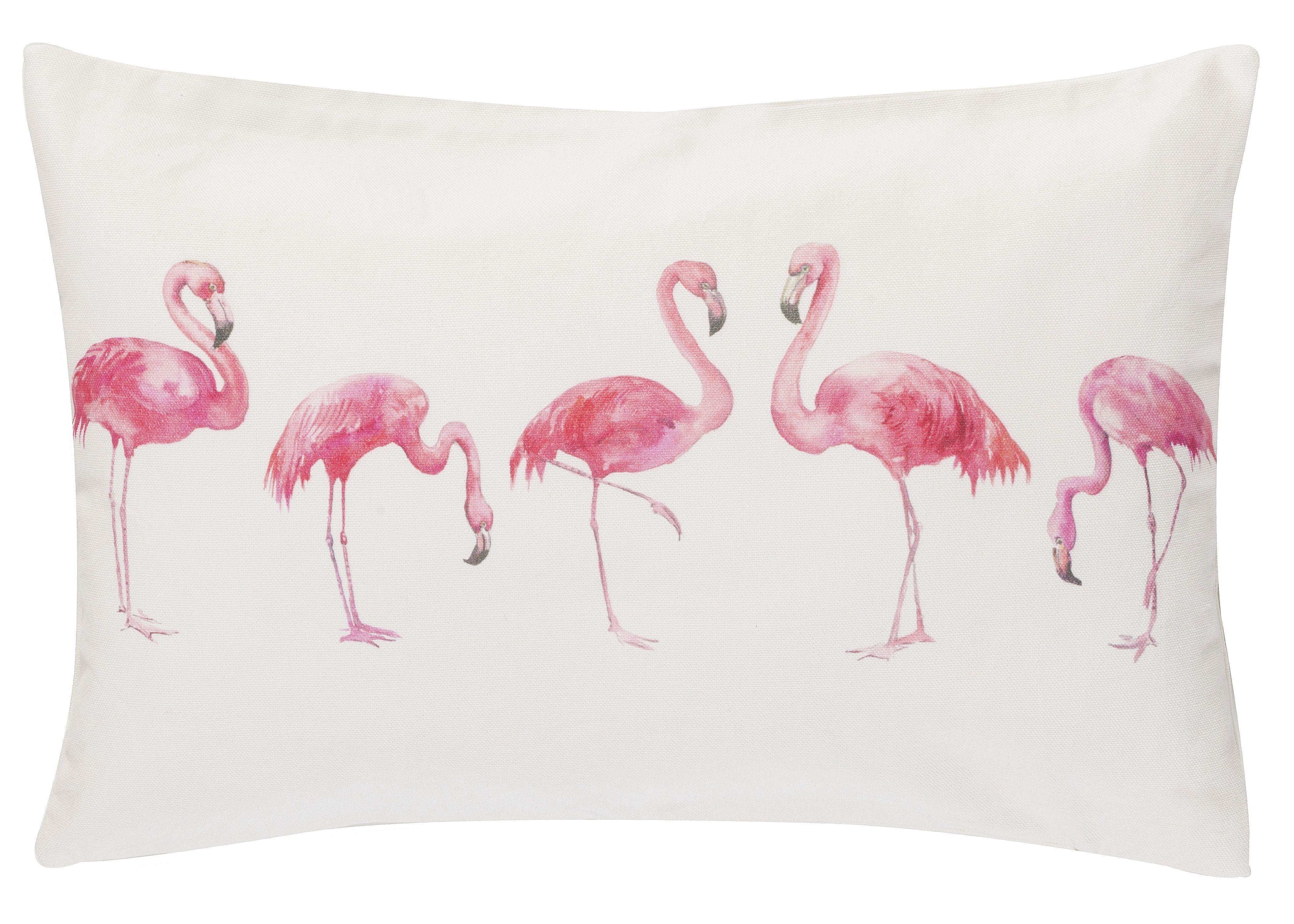 Kissenhüllen »Miami Flamingo«, Barbara Becker