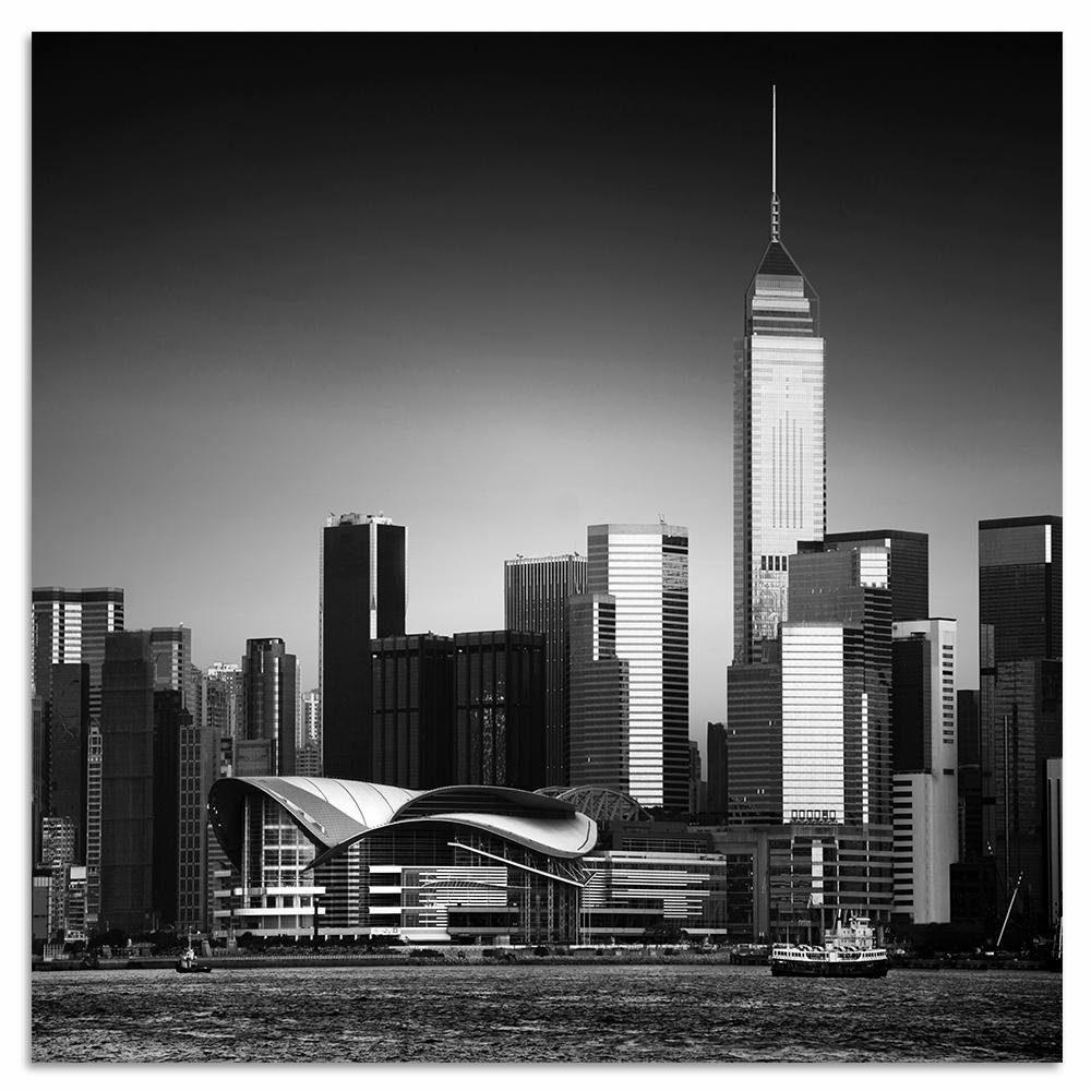 INOSIGN Metallbild »New York«, Stadt, 50/50 cm