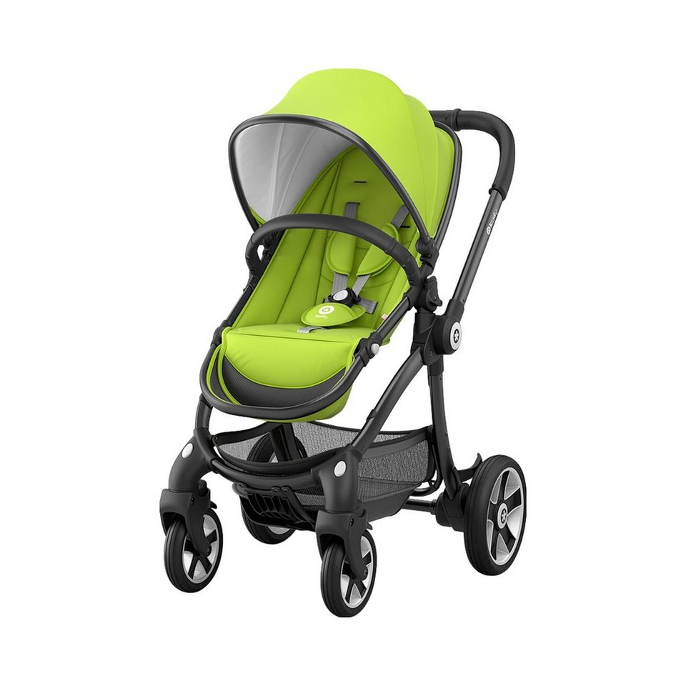 KIDDY Evostar Kinderwagen Design 2017 in Lime green