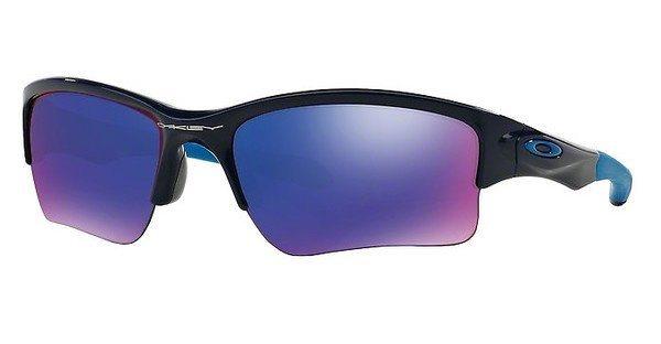 Oakley Herren Sonnenbrille »QUARTER JACKET OO9200« in 920004 - blau/lila