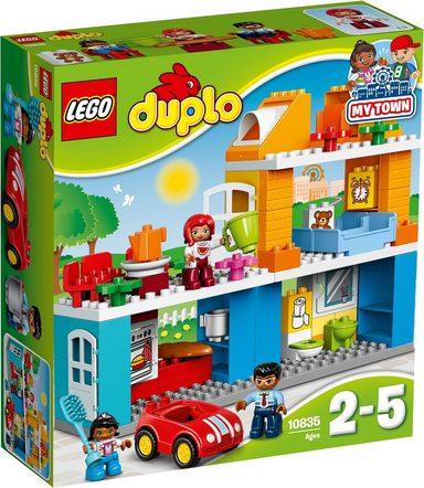 LEGO® Konstruktionsspielsteine »Familienhaus (10835), LEGO® DUPLO®«, (69 St)