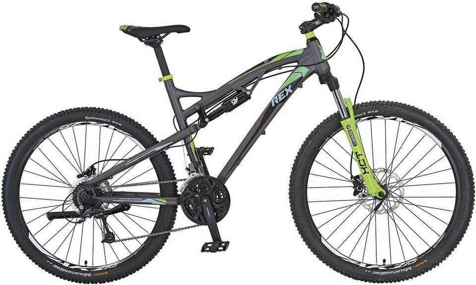rex herren mtb 27 5 zoll 27 gang shimano dore. Black Bedroom Furniture Sets. Home Design Ideas