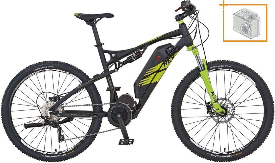 rex herren e bike mtb 27 5 zoll 10 gang shimano deore xt. Black Bedroom Furniture Sets. Home Design Ideas