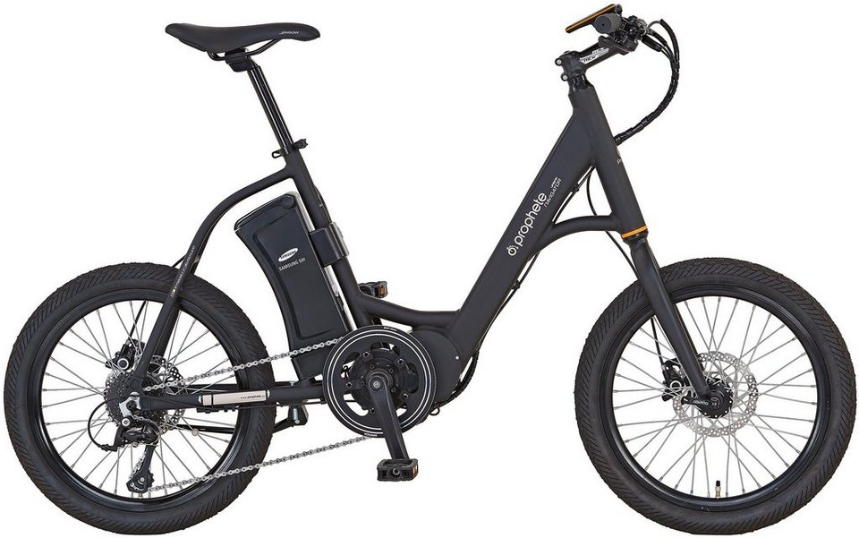 prophete damen e bike city 20 zoll 8 gang shimano sora mittelmotor 250 watt navigator. Black Bedroom Furniture Sets. Home Design Ideas