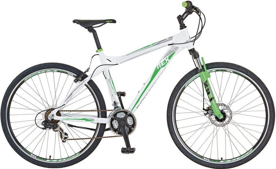 rex bike mountainbike bergsteiger 7200 21 gang shimano. Black Bedroom Furniture Sets. Home Design Ideas