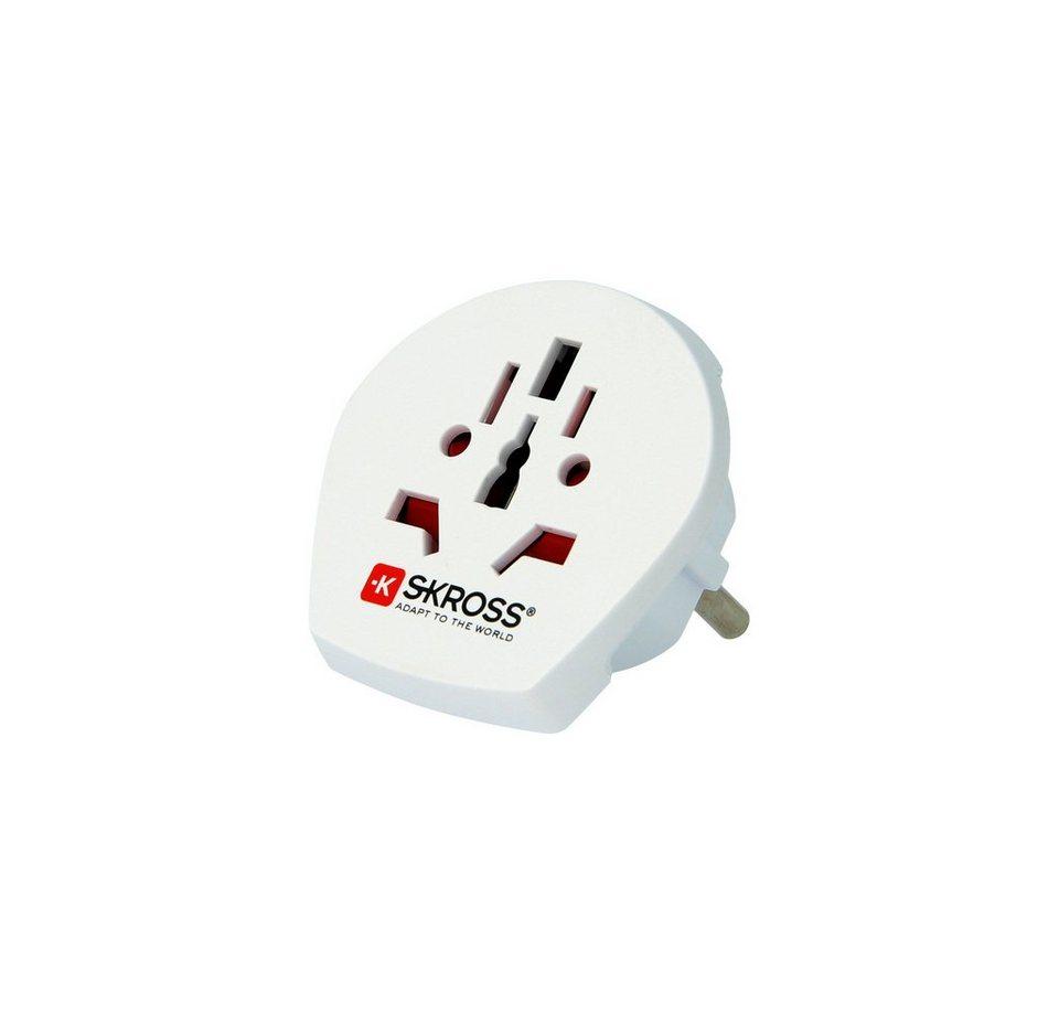 SKROSS Reiseadapter Universal »Country Adapter World to Europe weiß«