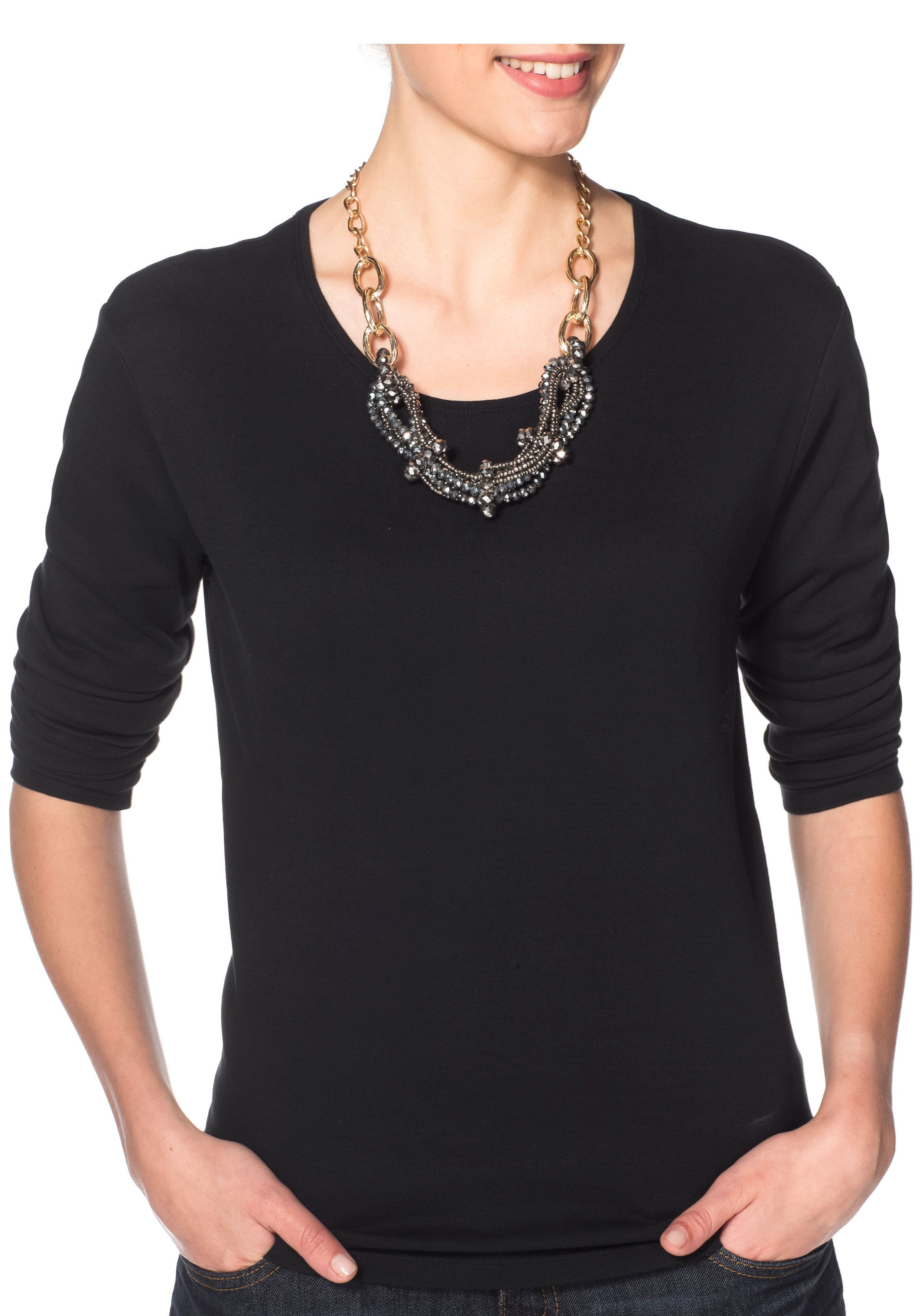 sheego Accessoires Collier, Länge ca. 45 cm