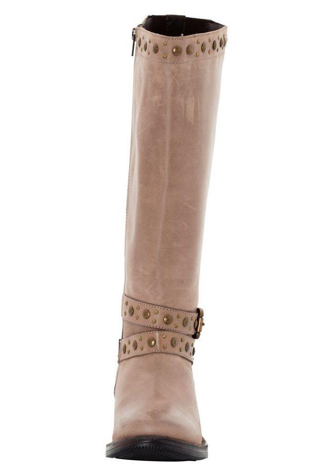 sheego Shoes Weitschaftstiefel, Schafthöhe ca. 38 cm, Schaftweite ca. 40-45 cm online kaufen | OTTO