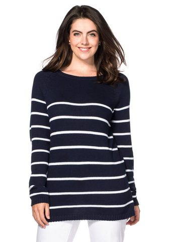 Пуловер с круглым вырезом
