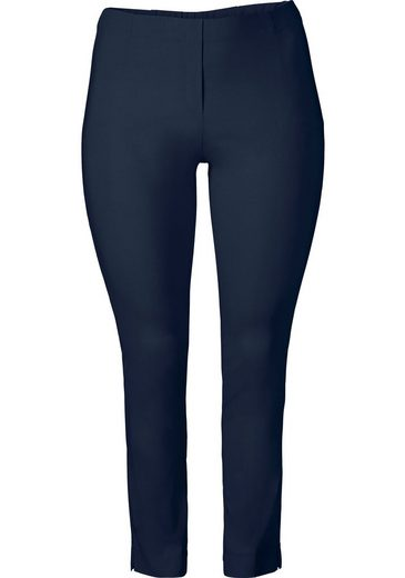 Sheego Basic Suit Pants, Wrinkle Resistant And Easy To Care For