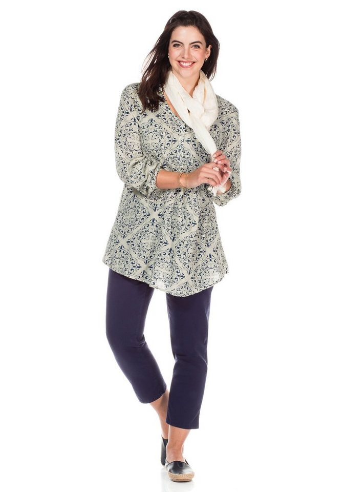 sheego Casual Longtunika, Leichte A-Form