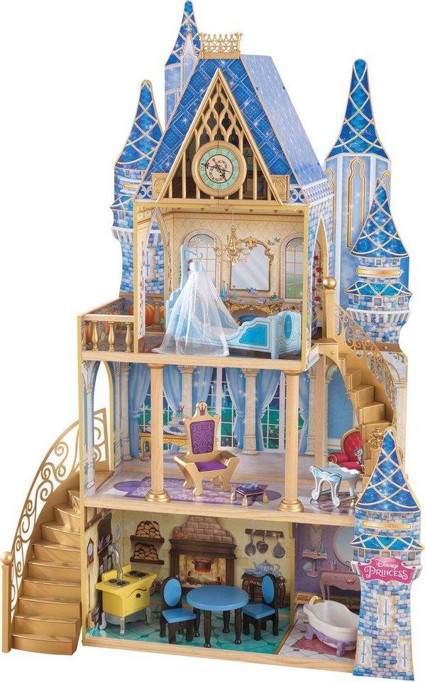 kidkraft puppenhaus disney princess cinderella royal puppenhaus online kaufen otto. Black Bedroom Furniture Sets. Home Design Ideas