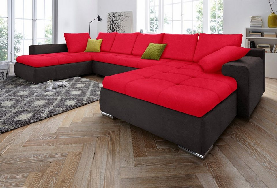 collection ab wohnlandschaft wahlweise in xl oder xxl online kaufen otto. Black Bedroom Furniture Sets. Home Design Ideas