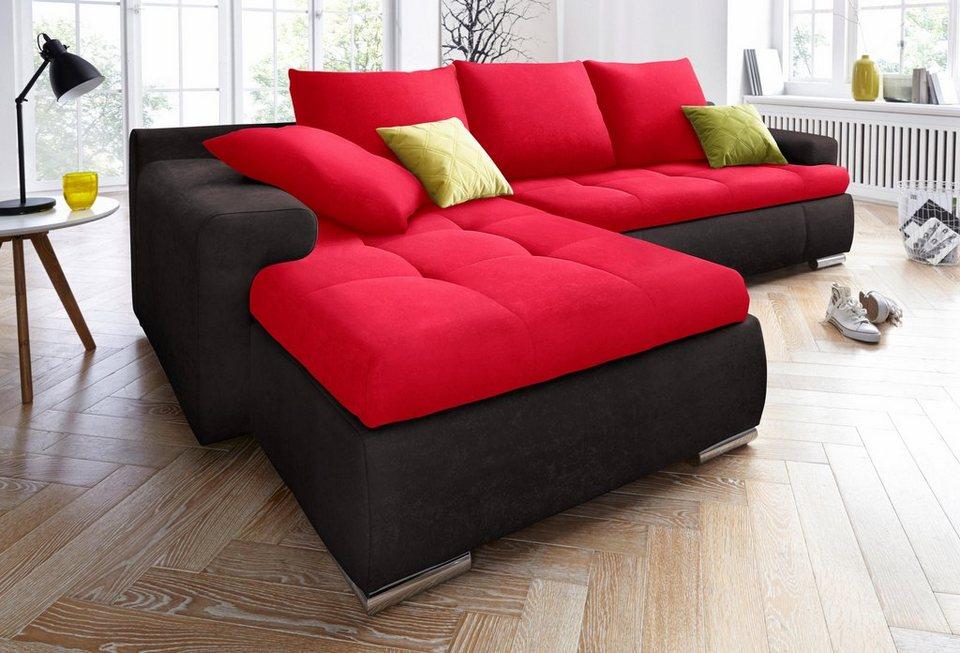 Polsterecke xl mit bettfunktion und bettkasten otto for Couch mit bettfunktion und bettkasten