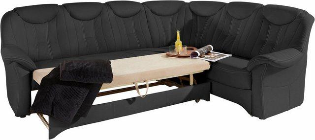 Sofas - exxpo sofa fashion Ecksofa, wahlweise mit Bettfunktion Polsterecke mit Federkern  - Onlineshop OTTO
