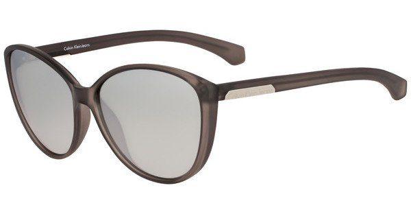 Calvin Klein Damen Sonnenbrille » CKJ784S«, grau, 047 - grau/ grau