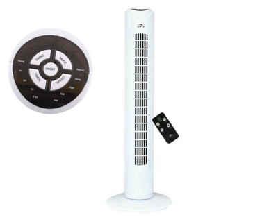 Lentz Turmventilator Turmventilator mit Fernbedienung Luftkühler Lüfter