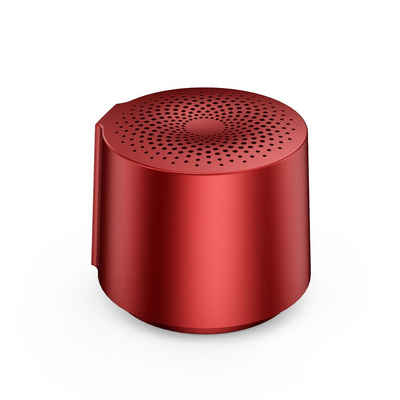 HOAIYO Lautsprecher V6 Bluetooth-Lautsprecher (3 W, Round tragbarer, Mini kabelloser Bluetooth-Lautsprecher, Wasserabweisend, Extra Bass)