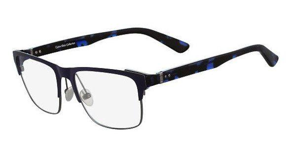 Calvin Klein Herren Brille » CK8014«, blau, 461 - blau
