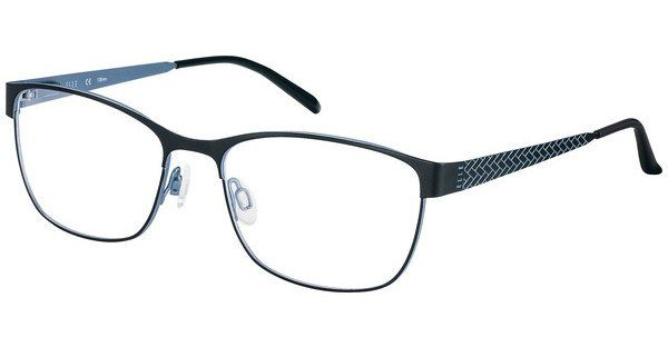 Elle Creation Damen Brille » EL13398«, rot, RE - rot