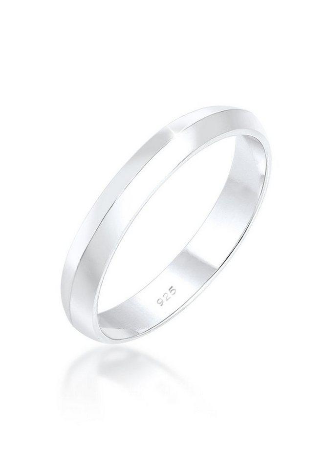 Elli Ring »Basic Trend Stapelring 925 Silber« in Silber