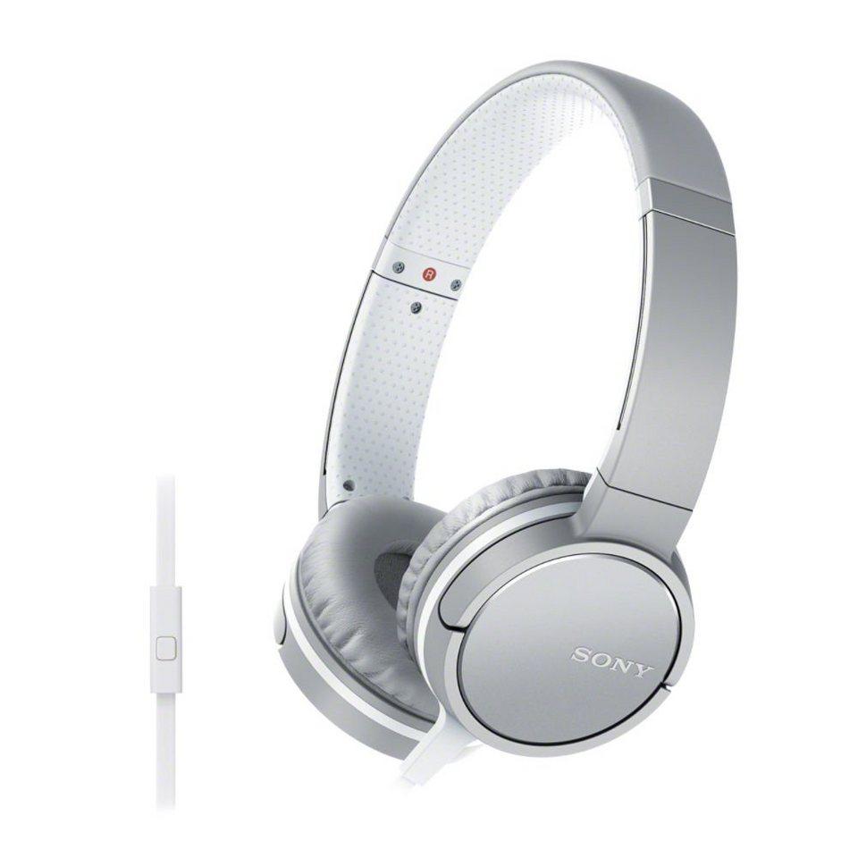 sony on ear kopfh rer mit headsetfunktion in line remote mdr zx660ap online kaufen otto. Black Bedroom Furniture Sets. Home Design Ideas