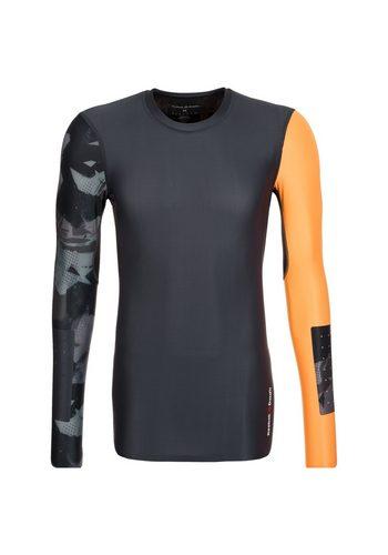 Herren REEBOK CrossFit Compression Trainingsshirt Herren schwarz | 04057291078160