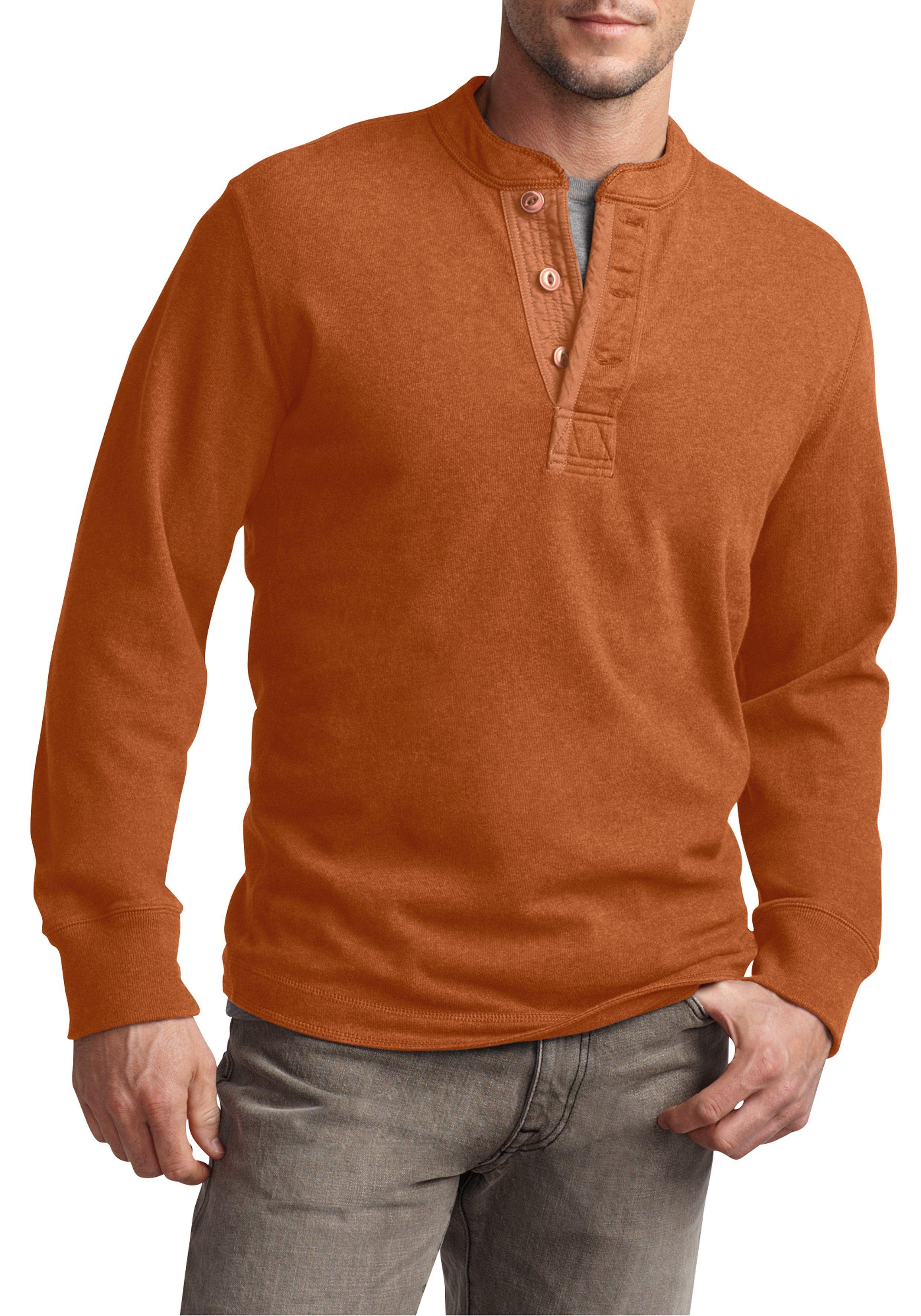 Eddie Bauer Henley-Sweatshirt