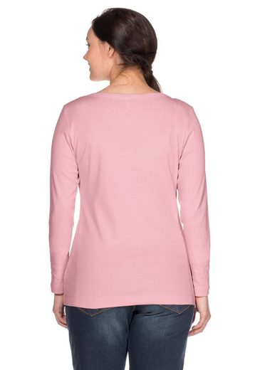 sheego Basic Langarmshirt