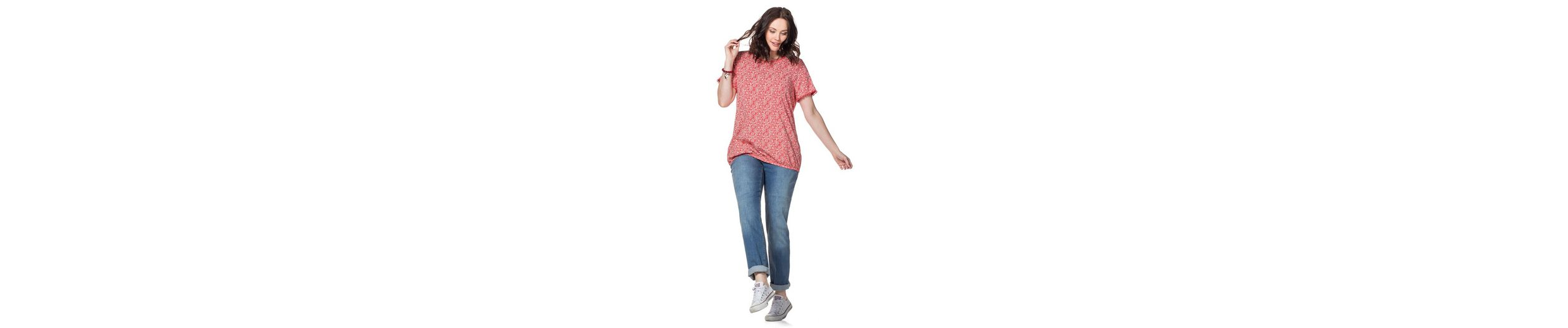 sheego Casual T-Shirt, mit Alloverdruck