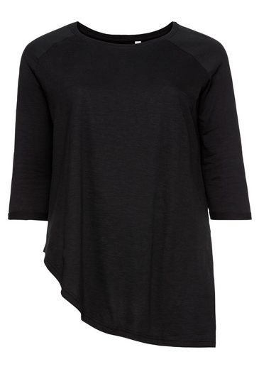 sheego Casual 3/4-Arm-Shirt, in leichter Oversize-Form