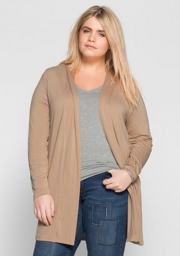 sheego Basic Shirtjacke