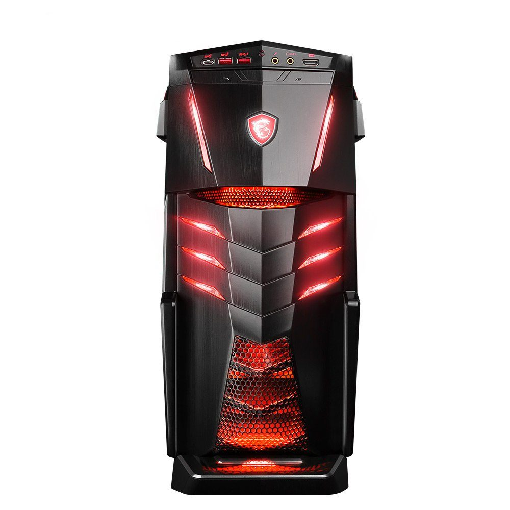 MSI Gaming PC, Intel® i7-7700K, 64GB, SSD + HDD, GeForce® GTX 1080 »Aegis Ti3 VR7RE SLI-005DE«