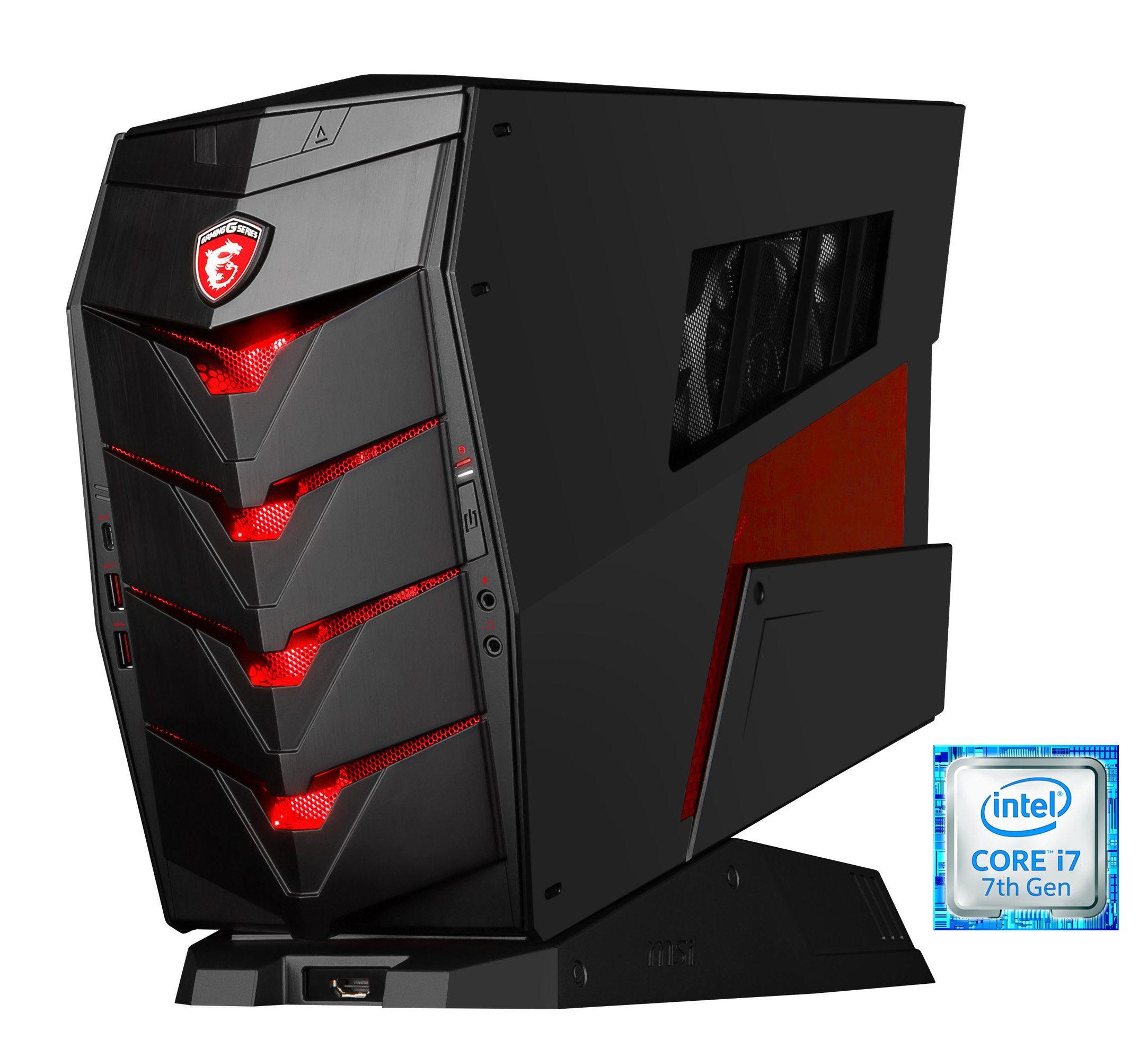 MSI Gaming PC, Intel® i7-7700, 16GB, SSD + HDD, GeForce® GTX 1070 »Aegis 3 VR7RD-019DE«