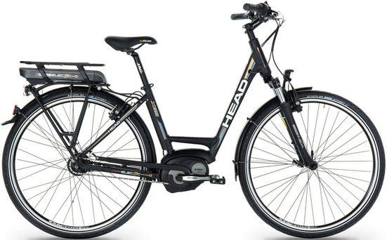 Head E-Bike »Comfort«, 8 Gang Shimano Nexus 8 Schaltwerk, Nabenschaltung, Mittelmotor 400 W
