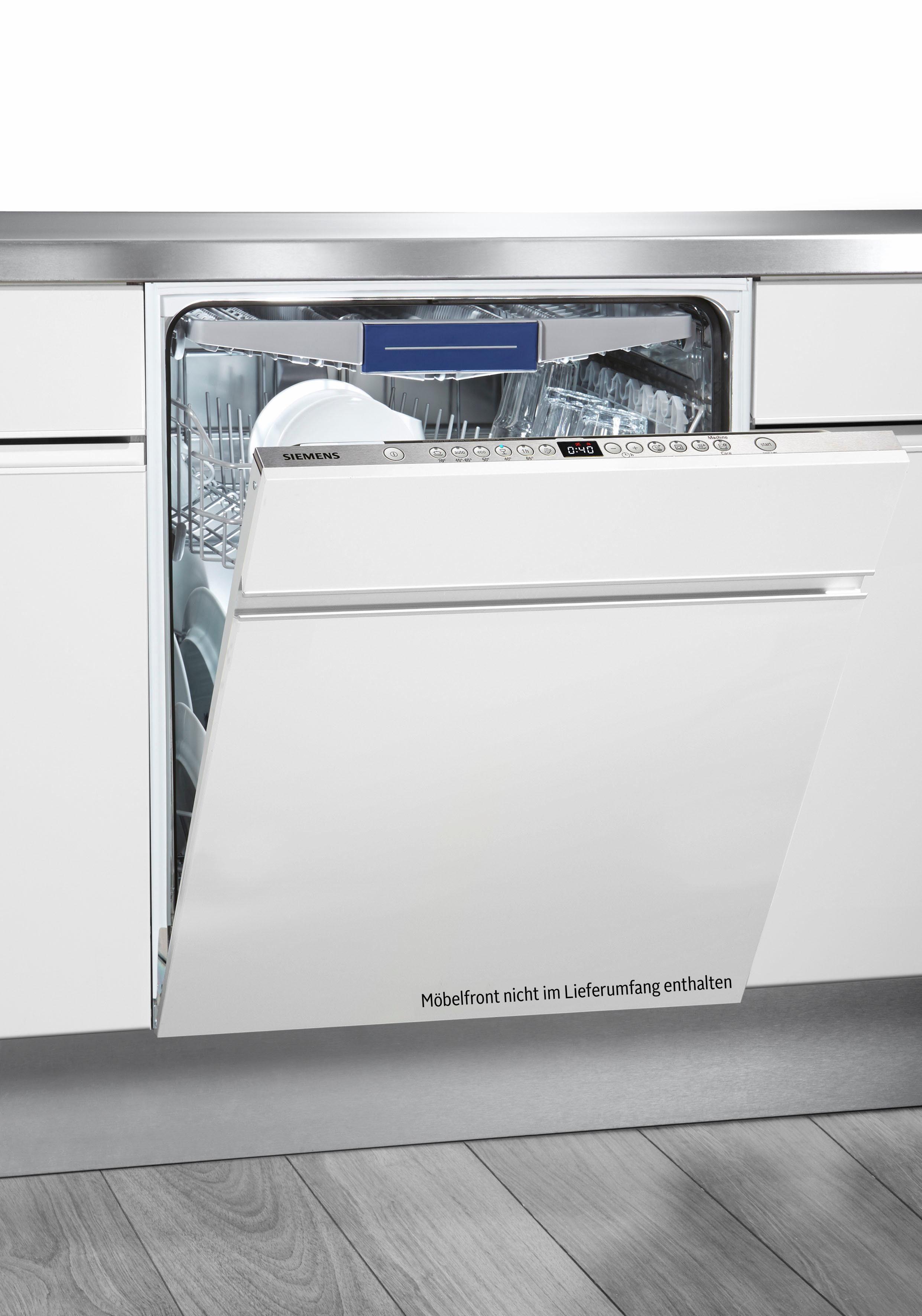 SIEMENS Vollintegrierbarer Einbaugeschirrspüler iQ300 SX636X03ME, A++, 9,5 Liter, 14 Maßgedecke