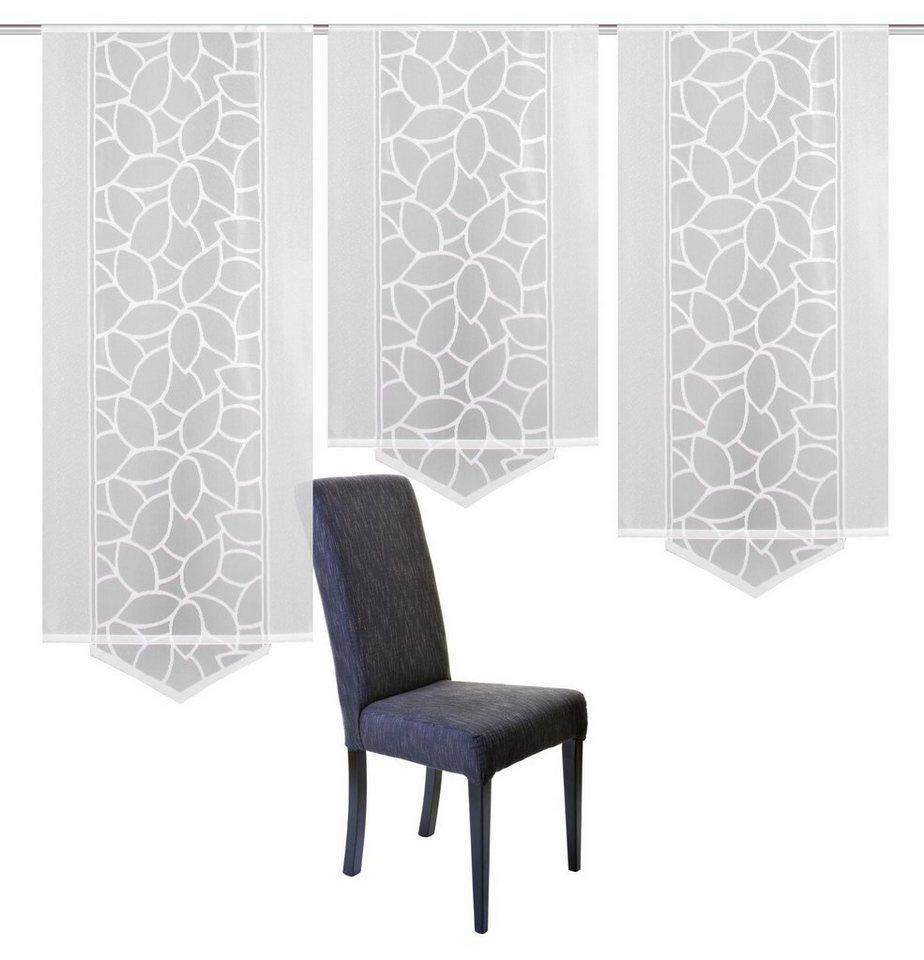 Elegant Schiebevorhang, Home Wohnideen, »JENNA«, Mit Klettband, Mehrfachsets (mit  Zubehör