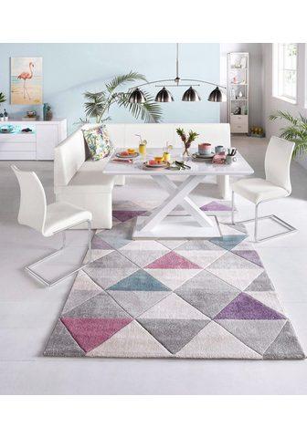 HOMEXPERTS Kampinis virtuvės suolas su kėdėmis (R...