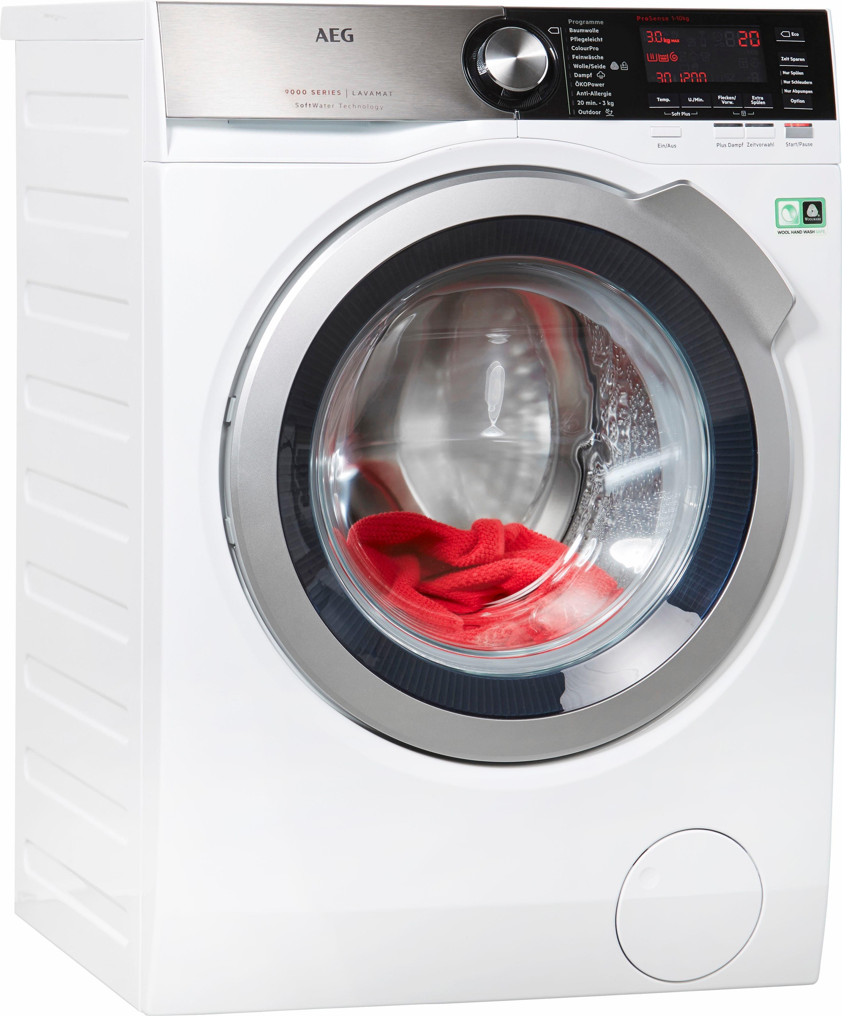 Waschmaschine LAVAMAT L9FE86495, 9 kg, 1400 U/Min