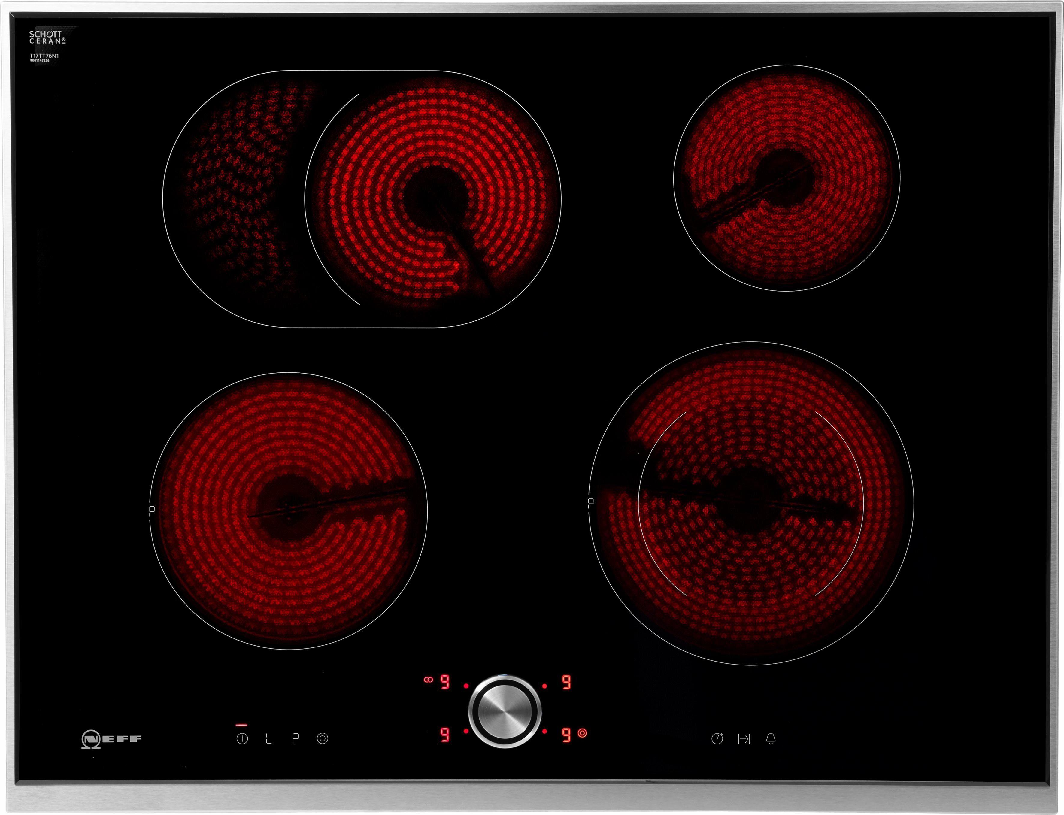 NEFF Elektro-Kochfeld TTT1776N / T17TT76N1, mit TwistPad® Flat Bedienung