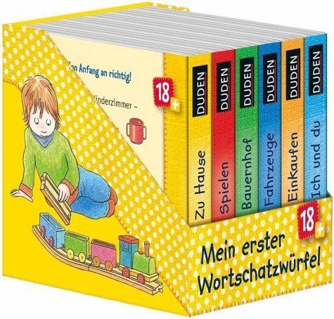 Gebundenes Buch »Duden: Mein erster Wortschatzwürfel«