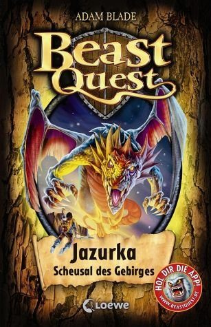 Gebundenes Buch »Jazurka, Scheusal des Gebirges / Beast Quest...«