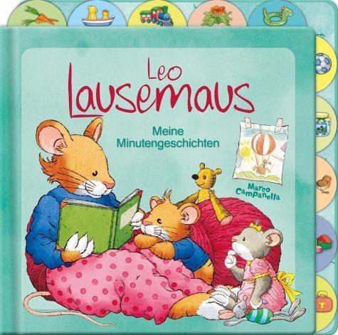 Buch mit Papp-Einband »Leo Lausemaus - Meine Minutengeschichten«