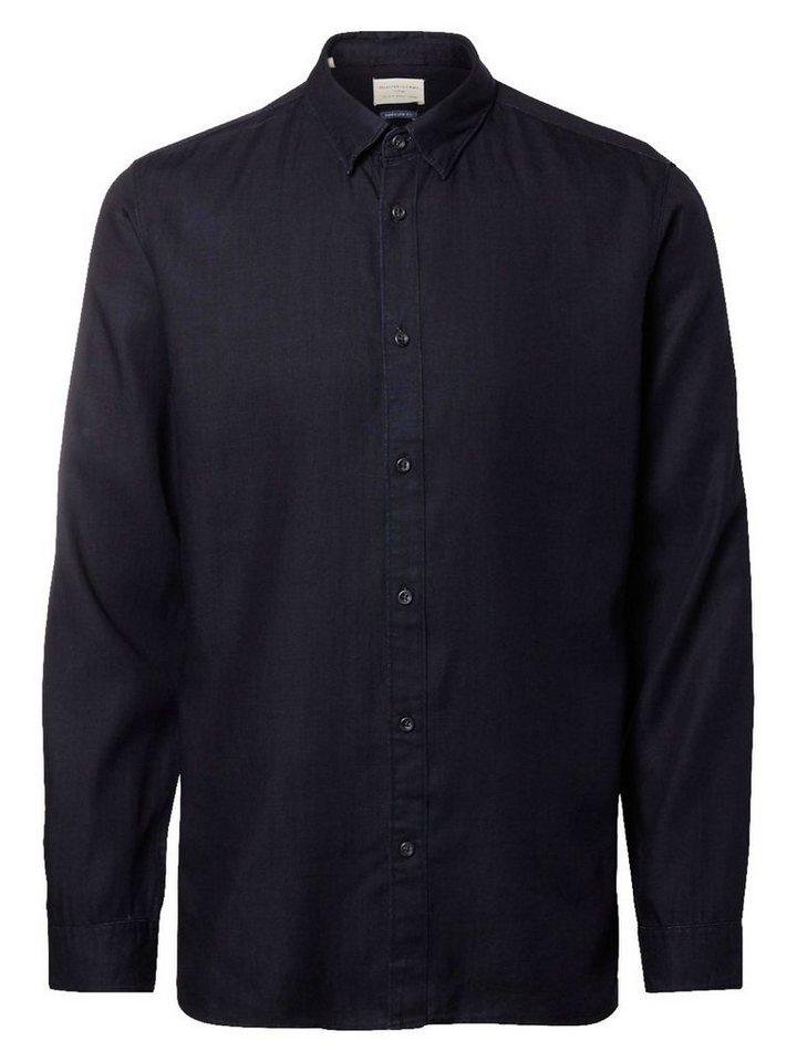 SELECTED Regular-Fit- Hemd in Black