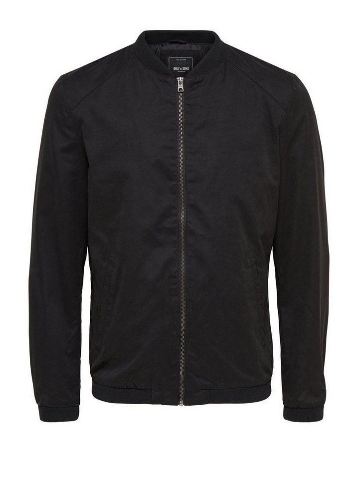 ONLY & SONS Jacke in Black