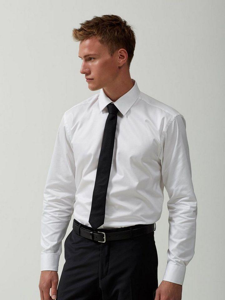 SELECTED Langarmhemd in White