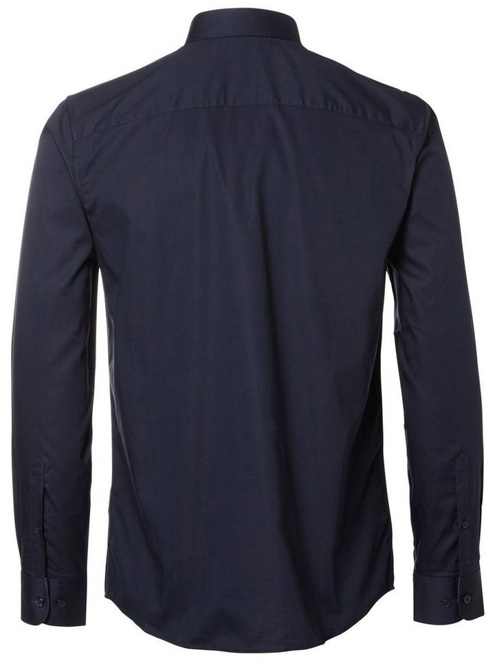 SELECTED Slim-Fit- Hemd in Navy Blazer