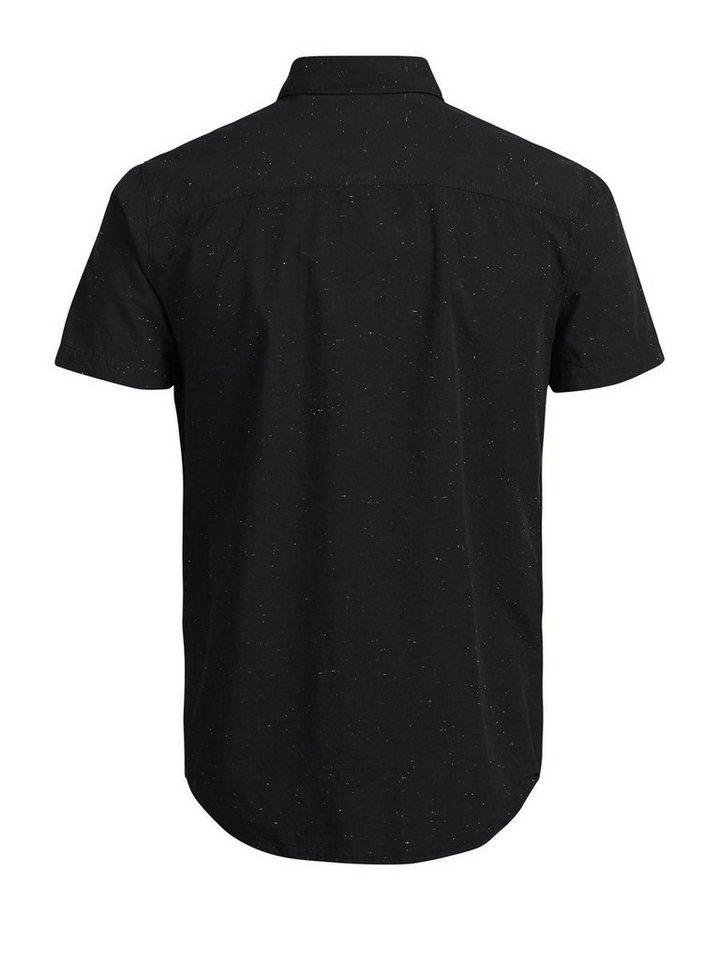 Jack & Jones Markantes Kurzarmhemd in Black
